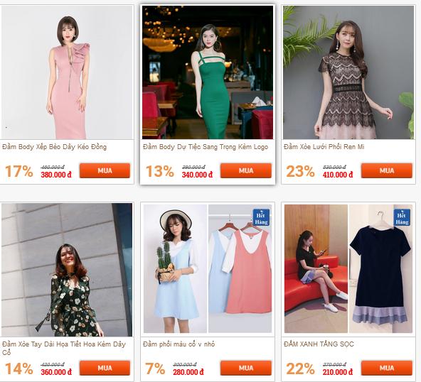 Share code bán hàng thời trang
