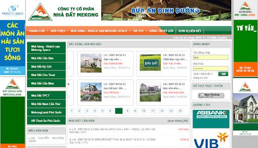 Share code rao vặt nhà đất Mekong